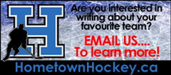 Write for HometownHockey.ca