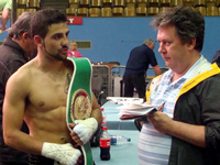 Luis wins WBC Intercontinental Title with First Round KO