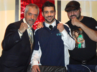 Boxing Champ Tony Luis thanks family and friends