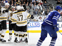 Bruins beat Leafs 5-4, Leafs playoff hopes fade