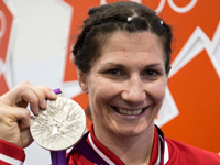 2012 Olympics: Wrestling - Verbeek wins her third Olympic medal