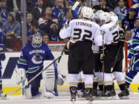 Sloppy Start to 2013 Season - Ducks School Canucks in 7-3 Loss in Opener