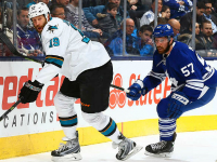 Sharks dismantle Leafs, how about Thornton in Toronto?