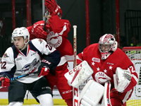 Spits cant pull off third straight comeback, fall to Soo 3-1