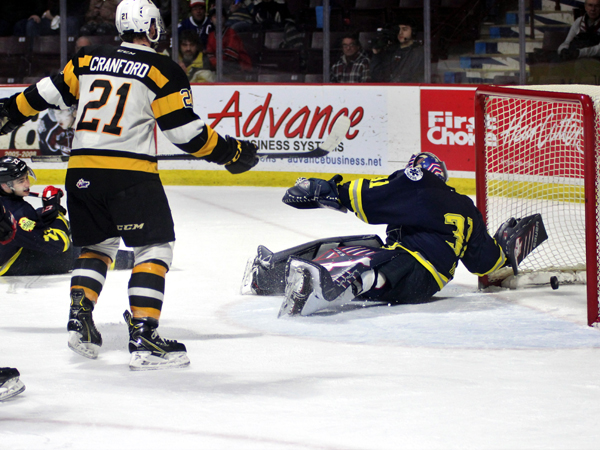 SHORT SHIFT - Spits fall in OT to Fronts