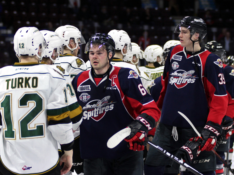 SHORT SHIFT - Spits fall to Knights, swept out of Playoffs
