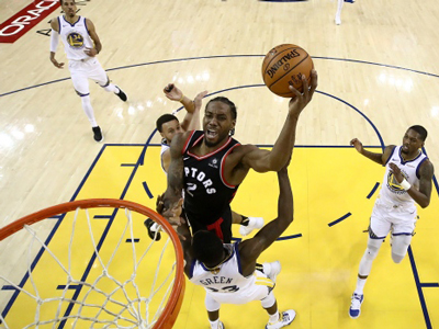 Raptors take Game 3 with big win over Warriors