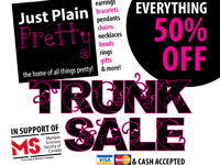 Just Plain Pretty Trunk Sale