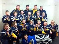 Casselman Pirates AAA Atom team brings home the bronze