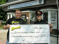 Law Enforcement Torch Run Special Olympics Donation