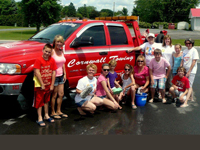 Successful car wash for Ingleside Relay for Life team - Charlie