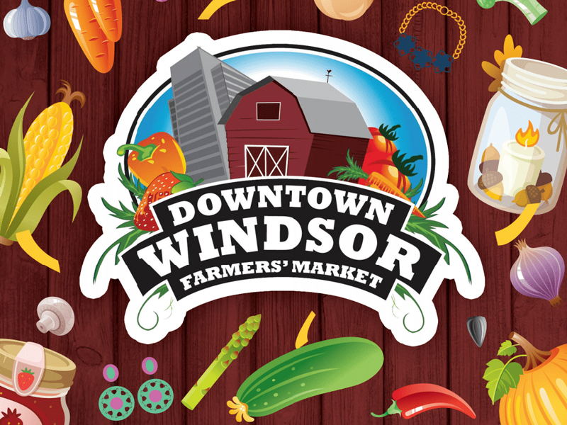 Downtown Windsor Farmer's Market Opens Saturday, May 25