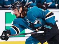 Karlsson says he was ready to return to play for Sharks