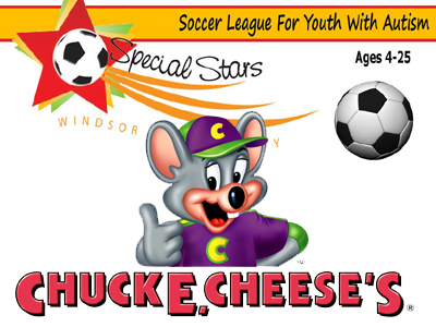 WEC Special Stars Soccer Fundraising Fun at Check E. Cheese